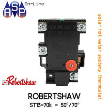 SOLAR SOLAHART BOOSTED HOT WATER THERMOSTAT ROBERTSHAW 50-70°C - PART# ST1301133