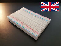 Solderless Breadboard 400/830 Holes Stackable Solder Free Electronic Prototyping