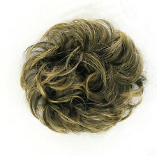 Crocchia chignon Coda di cavallo bruno mechato dorato ref: 17/1bt24b PERUK