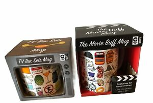 CoffeeCups The Movie Buff Mug & TV Box Sets Mug  Boxed New Gift