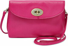 Fossil Monica Pink Leather Cross Body Mini Bag