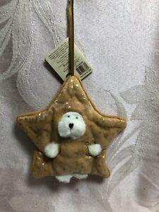 Boyds Bear Plush Peeker Bear Ornament  ~ Little Twink