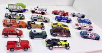 18 diecast cars vans Earnhardt Fire Rescue Lot
