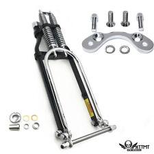 """Springer Front End -4"""" Under Handlebar Adapter For Harley sportster bobber chopp"""