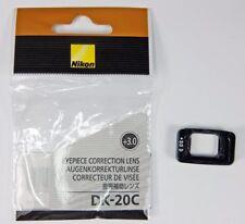 Nikon DK-20C+3  correcteur de visée +3 dioptries