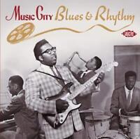 MUSIC CITY BLUES & RHYTHM   CD ALVIN SMITH AL HARRIS SIDNEY GRANDE NEU