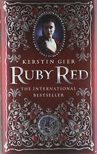 Ruby Red (Ruby Red Trilogy), Acceptable, Gier, Kerstin, Book