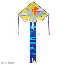 Dolphin Kite. Leaping Dolphins. Children's Kite. Easy To Fly Kite