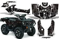 Can Am AMR Racing Graphics Sticker Kits ATV CanAm Outlander SST Decals 2012 RPRB