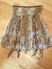 Silk Diane Von Furstenberg Tube Top Shirt. Size S. Animal Print. Gorgeous.