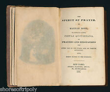 ID'd 1833 CORNELIA WILLIS ~ SLAVE ABOLITIONIST HARRIET JACOBS SPIRIT OF PRAYER