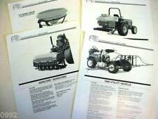 4 John Deere Turf & Greens Related Brochures