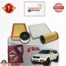 Kit Inspección Filtros + Aceite VW Touareg 3.0Tdi V6 165KW 224CV De 2005 - >2010