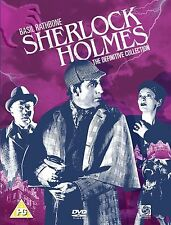 Basil Rathbone, Nigel Bruce-Sherlock Holmes: The Definitive Collection  DVD NEW