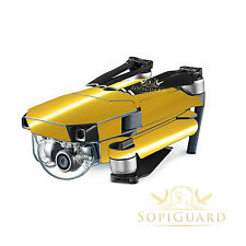 SopiGuard Chrome Gold Vinyl Skin Wrap Battery Controller for DJI Mavic Pro
