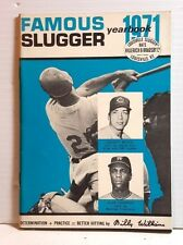 Original 1971 Louisville Slugger Famous Slugger Yearbook- 64 Pages (T-1071)