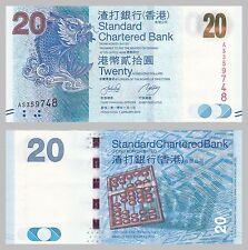 Hongkong / Hong Kong 20 Dollars 2010 p297a unc.