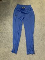 Mens Under Armour Loose Fit Sweat Pants With Zip Bottom Royal/Medium