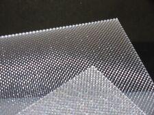 Cast Perspex Acrilico Foglio 600 x 400 x 3 mm SOLID BLACK