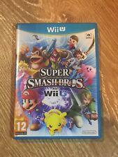 Nintendo Wii U Game Super Smash Bros *FAST FREE POST*