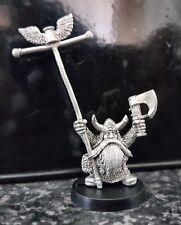 G.W. Citadel Warhammer Marauder Dwarf Bugmans Rangers Standard Bearer Metal Oop