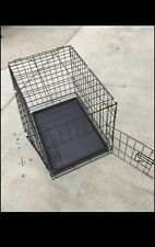 Small Foldable  Dog Crate - Black
