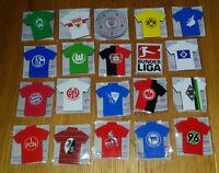 20 Magnete - alle Trikot-Pins - Fußball Bundesliga (Tombola Preis DFL)