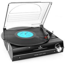 NEW RETRO VINYL TURNTABLE RECORD PLAYER STEREO SYSTEM *FREE P&P SPECIAL OFFER