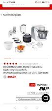 BOSCH Küchenmaschine CreationLine MUM58243, 1000 Watt, Schüssel 3,9 L Garantie