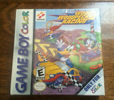 Woody Woodpecker Racing - NEW GameBoy Color GBC  Factory Sealed Brand NIB H-Seam