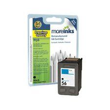 Moreinks Remanufactured HP 56 Black Ink Cartridge for HP Printers (C6656AE)