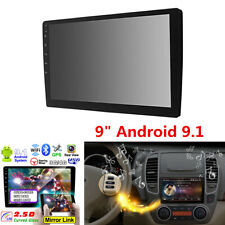 """Double 2Din 9"""" Android 9.1 4-Core 2GB+32GB Car Stereo Radio MP5 Player GPS Wifi"""