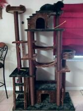 """78"""" TALL AMAZON CAT TREE, 1 COLOR CHOICE, HUGE-FREE SHIPPING IN THE U.S."""