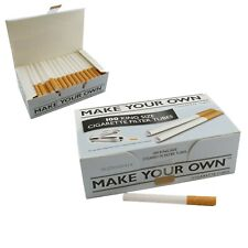500 Make Your Own Cigarette Tubes Rizla Branded Concept Filter King Size Tubes