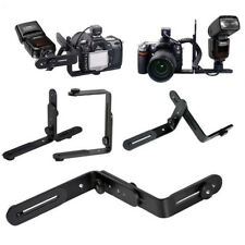Perfeclan L-Shaped Double Metal Bracket Holder Mount for Photography G