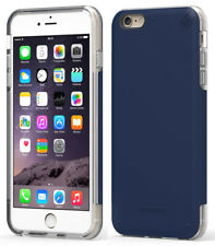 PUREGEAR NAVY BLUE DUALTEK PRO ANTI-SHOCK CASE COVER FOR APPLE iPHONE 6 6s