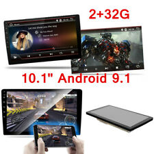 2Din 10.1inch Android 9.1 Quad Core 2+32G Car Radio Player Stereo GPS 4G OBDII