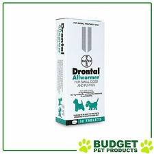 Drontal Allwormer For Dogs Small 3kg 50 Tablets