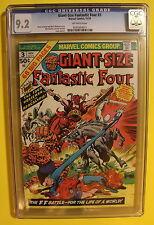 Giant Size Fantastic Four #3 1st FOUR HORSEMEN OF APOCALYPSE 1974 CGC NM- 9.2