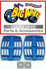 """Replacement Blue Pedals for The Original Big Wheel 16"""" Trike with Washers"""