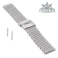 J.VANDER V.2 Shark Mesh Watch Band Thick & Heavy Milanese - 316L Stainless Steel