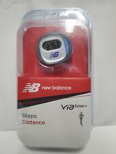 New Balance VIA Base + Steps Distance Fitness Sports Monitor Pedometer
