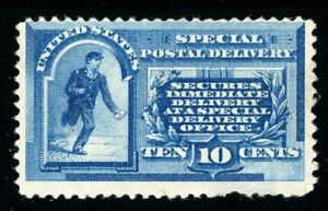 USAstamps Unused FVF US 1885 Special Delivery Scott E1 NG