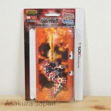 Pokemon TPU cover case for Nintendo 3DS LL XL Primal Groudon Genshi Japan