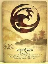 Legend of the five rings LCG - 1x #217 Keeper of Water/Seeker of water-base