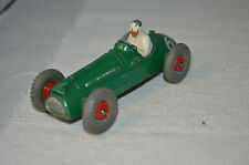 Dinky Toys 233 Cooper Bristol Racing Car with red plastic hubs all original