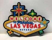 Las Vegas Welcome Sign Casino 3D Color Magnet Hotels Casino Gaming