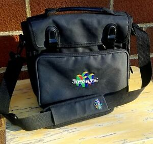 Nintendo 64  N64 Sports Console Travel Bag with Shoulder Strap.