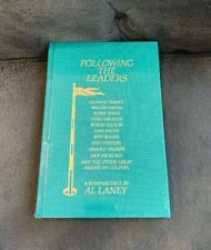 FOLLOWING THE LEADERS: A REMINISCENCE Classics Of Golf Al Laney New Book