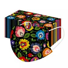 5x Behelfsmaske Motiv Blume bunt 🌻🌺🌷Bedeckung Nase Mund modisch fashion mask